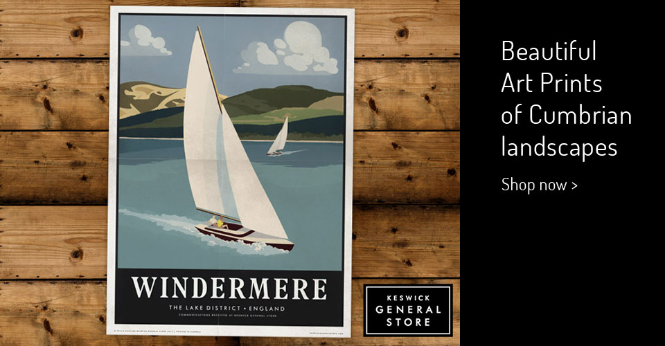Cumbrian art prints, Windermere, Kendal