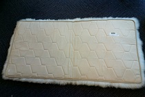 Rectangular Lined Sheepskin Rug