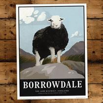 Keswick General Store Art Print Borrowdale