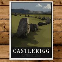 Keswick General Store Art Print Castlerigg