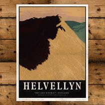 Keswick General Store Art Print Helvellyn