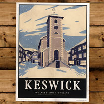 Keswick General Store Art Print Keswick